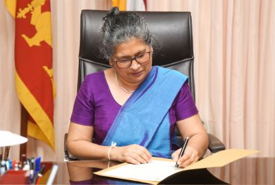Cadre Chair & Senior Prof. Nilanthi de Silva was appointed as the Vice- Chancellor of University of Kelaniya