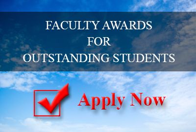 Faculty Awards for Outstanding Students – 2019/20