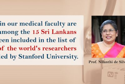 Two Kelaniya Professors in top researchers list