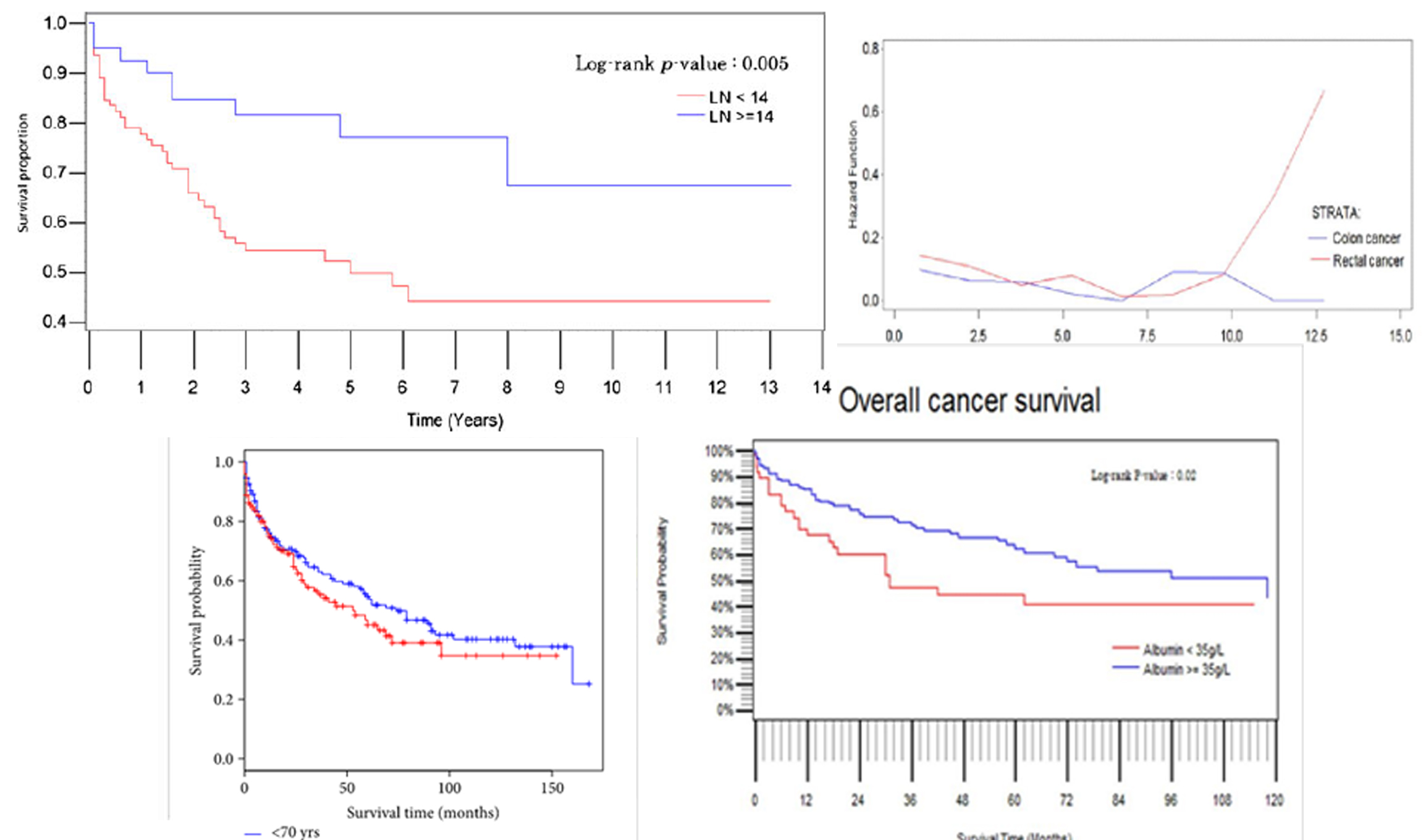 Large bowel cancer and surgery