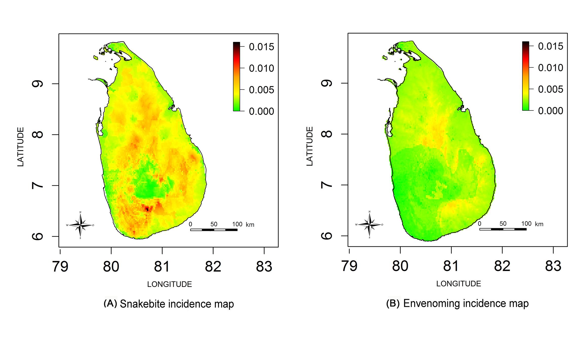 National Snakebite Study in Sri Lanka