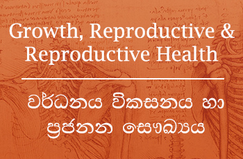 Growth Reproductive Reproductive Health